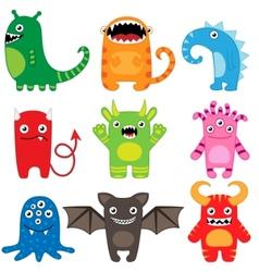 Monster set vector