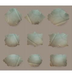 Old Paper frame EPS 10 vector image vector image