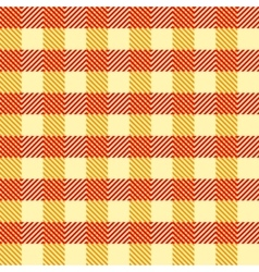 Seamless Vintage Square Pattern Geometric vector image vector image