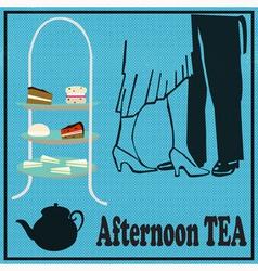 Tea Dance vector image vector image