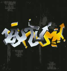 Graffiti autumn vector