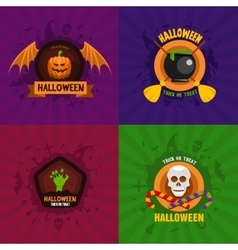 Halloween Celebration Concepts vector