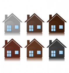 house icon2 vector image