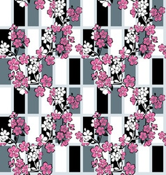 Japanese modern pattern vector
