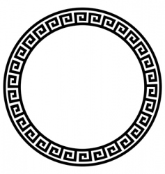 decorative frame vector image vector image
