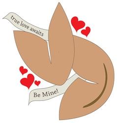 True Love Awaits vector image vector image