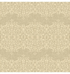 Vintage Seamless floral background vector image vector image