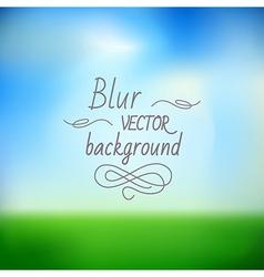 blur4 vector image vector image