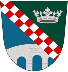 Coat of arms of furstenfeldbruck in upper bavaria vector