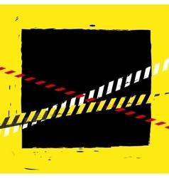 Danger Tape Background vector