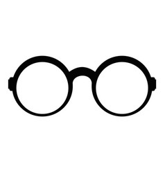 Eyeglasses for reading icon simple style vector