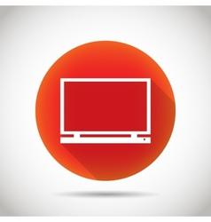 Laptop icon vector image vector image