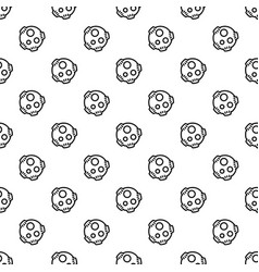 Meteorite pattern seamless vector