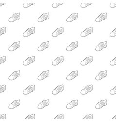 running shoe icon outline style vector image