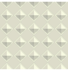 Texture diamond plate seamless Metal or plastic vector image