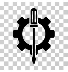 Tuning options gear icon vector