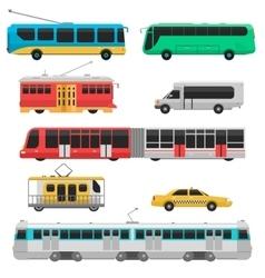 City transport vector image