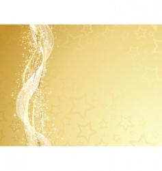 golden christmas vector image vector image