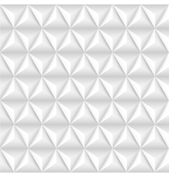 Abstract background with white pyramids vector image