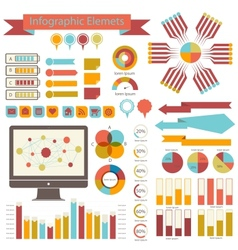 Detail infographics set Information Graphics vector