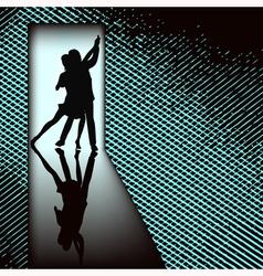 Doorway Tango vector image