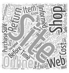 How to be a well informed online shopper text vector