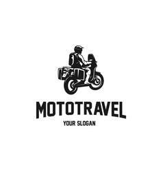 mototrevel vector image
