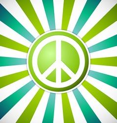 Peace emblem vector