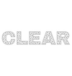 Polygonal mesh clear text tag vector