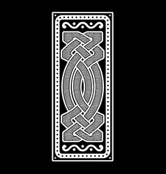 Viking scandinavian design celtic scandinavian vector