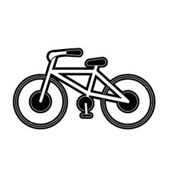 vintage bike isolated vector image