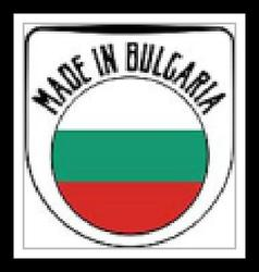 Made in Bulgaria rubber stamp vector image vector image