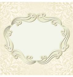 light beige background vector image vector image