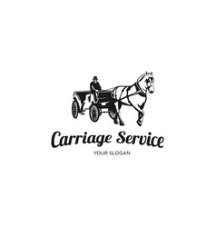 carriage services vector image