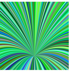 Curved ray burst background - graphic design vector