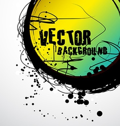 grunge art vector image