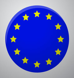Icon European Union Flag vector