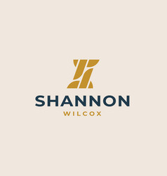 initial s logo template vector image