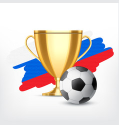 Soccer world cup concept vector