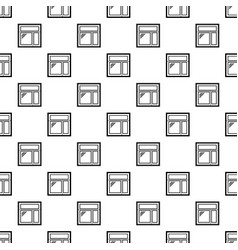 Square window frame pattern seamless vector