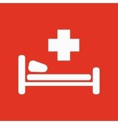 The hospital icon Ambulance and presentation vector
