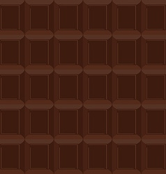 Chocolate seamless pattern texture is of vector image vector image