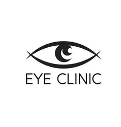 Eye vision design template vector image