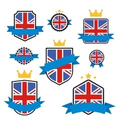 World Flags Series Flag of United Kingdom vector image