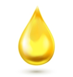 Realistic oil drop vector image vector image