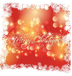christmas background 1610 vector image vector image