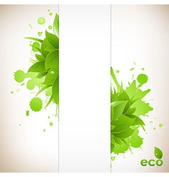 Design Eco Friendly vector image