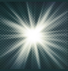 Abstract image of lighting flare glow light vector