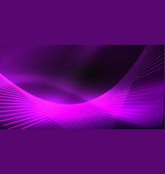neon color abstract lines vector image