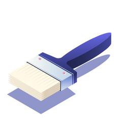 Paintbrush isometric vector